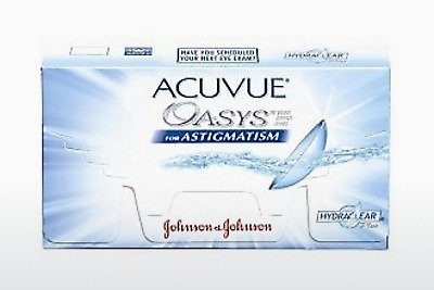 Lensler Johnson & Johnson ACUVUE ADVANCE for ASTIGMATISM AGT-6P-REV