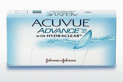 Lensler Johnson & Johnson ACUVUE ADVANCE with HYDRACLEAR AVG-6P-REV