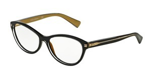 Dolce & Gabbana DG3232 2955 TOP BLACK ON GOLD