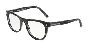 Dolce & Gabbana DG3248 2924 STRIPED ANTHRACITE