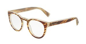 Dolce & Gabbana DG3251 3052 STRIPED HONEY