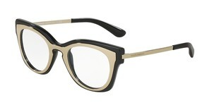 Dolce & Gabbana DG5020 501 PALE GOLD/BLACK