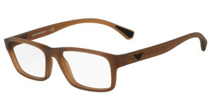 Emporio Armani EA3088 5533 MATTE TRANSPARENT BROWN