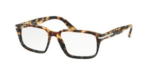 Prada PR 09TV U6O1O1 MEDIUM HAVANA/SPOTTED GREEN