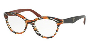 Prada PR 11RV VAN1O1 SHEAVES GREY ORANGE