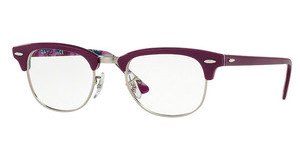 Ray-Ban RX5154 5652 VIOLET ON TEXTURE CAMUFLAGE