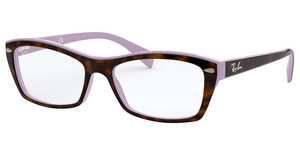 Ray-Ban RX5255 5240 TOP HAVANA ON VIOLET