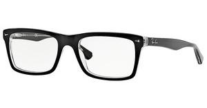 Ray-Ban RX5287 2034 TOP BLACK ON TRANSPARENT