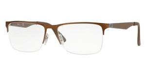 Ray-Ban RX6335 2531 GREY TOP ON BRUSCHED BROWN