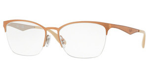 Ray-Ban RX6345 2920 SILVER TOP LIGHT BROWN