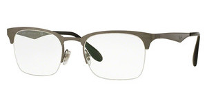 Ray-Ban RX6360 2553 BRUSCHED GUNMETAL