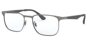 Ray-Ban RX6363 2553 GUNMETAL TOP ON BRUSHED GUNMET