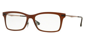 Ray-Ban RX7039 5450 DARK MATTE BROWN