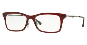 Ray-Ban RX7039 5456 MATTE DARK RED