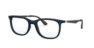 Ray-Ban RX7078 5679 MATTE TRASPARENT BLUE