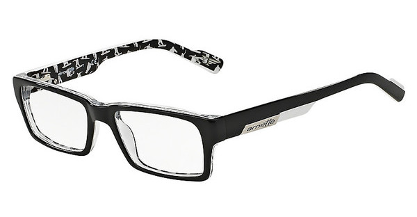 Arnette AN7039 1106 TOP BLACK ON WHITE ARNETTE SPO