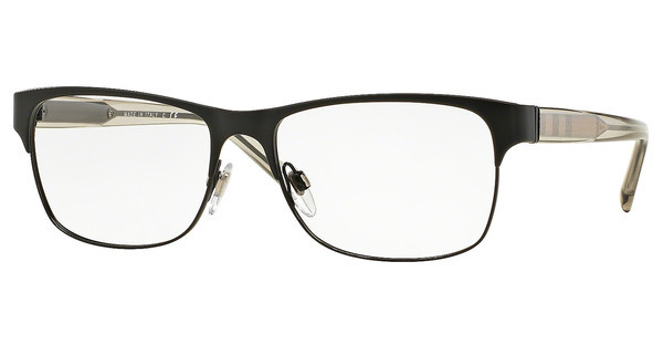 Burberry BE1289 1007 MATTE BLACK