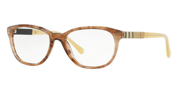 Burberry BE2172 3612 BROWN GRADIENT STRIPED