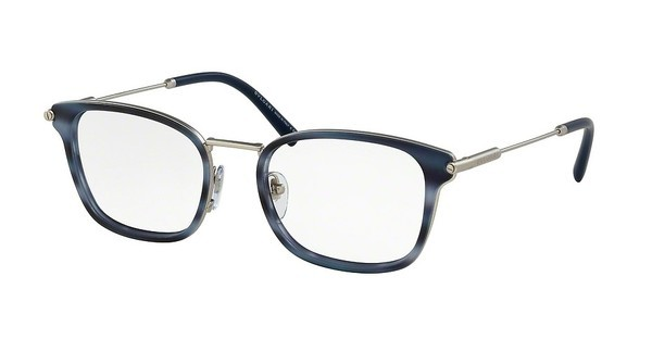 Bvlgari BV1095 400 MATTE SILVER/MT STRIP GREY/BLU