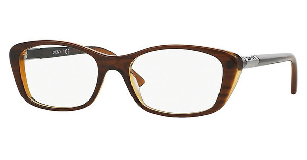 DKNY DY4661 3657 BROWN ON BROWN TRANSP