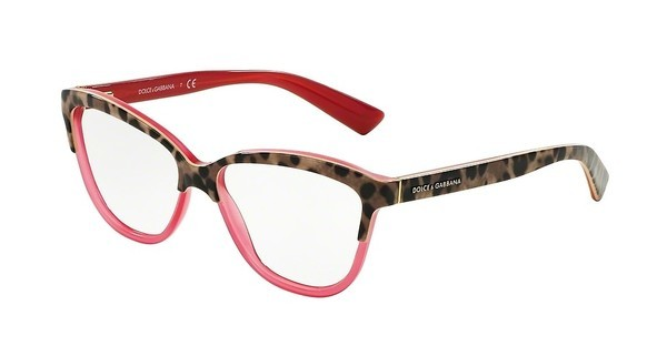 Dolce & Gabbana DG3229 2949 TOP ANIMALIER ON RASPBERRY