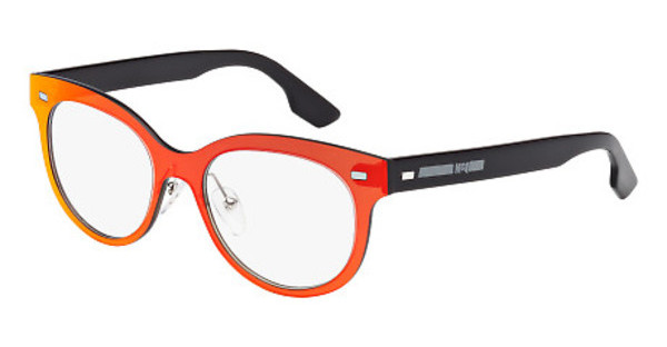 McQ MQ0009O 001 ORANGE, BLACK