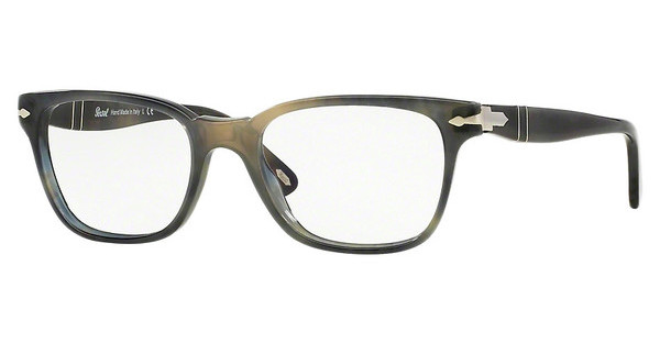 Persol PO3003V 1017 STRIPPED GREY HAVANA