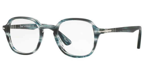 Persol PO3142V 1051 STRIPED GREY