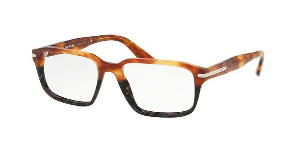 Prada PR 09TV UFN1O1 LIGHT HAVANA/SPOTTED GREY