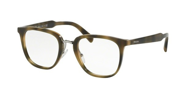 Prada PR 10TV U6A1O1 STRIPED GREEN