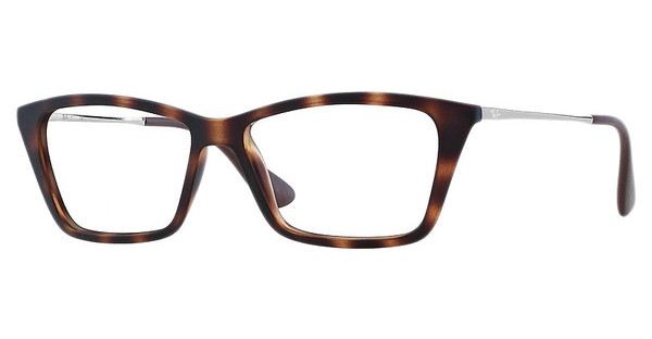 Ray-Ban RX7022 5365 RUBBER HAVANA