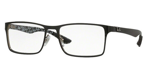 Ray-Ban RX8415 2861 TOP SHINY BLACK ON SILVER