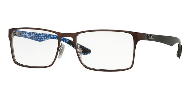 Ray-Ban RX8415 2862 TOP BRUSCHED BROWN ON GUNMETAL