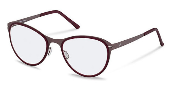 Rodenstock R2567 D dark chocolate/red