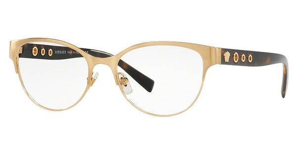 Versace VE1237 1352 BRUSHED GOLD