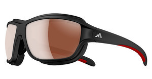 Adidas A393 6056 LST polarized silver H+ + LST bright Hmatt black/red pol