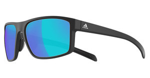 Adidas A423 6055 grey/blue mirror Hblack matt/black