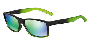 Arnette AN4185 22553R LIGHT GREEN MIRROR GREENFUZZY BLACK/TRASLUCENT LIME