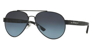 Burberry BE3086 1001K4 POLAR BLUE GRADIENT BLACKBLACK