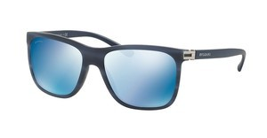 Bvlgari BV7027 539355 DARK BLUE MIRROR BLUEMATTE STRIPED BLUE