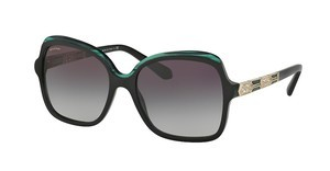 Bvlgari BV8181B 54178G GREY GRADIENTBLACK/MALACHITE GREEN/BLACK