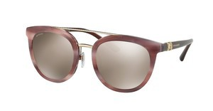 Bvlgari BV8184B 54155A LIGHT BROWN MIRROR GOLDHAVANA PINK/BROWN