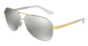 Dolce & Gabbana DG2144 13076G LIGHT GREY MIRROR SILVERSILVER/GOLD