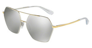 Dolce & Gabbana DG2157 13076G LIGHT GREY MIRROR SILVERSILVER/GOLD
