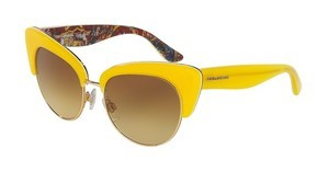 Dolce & Gabbana DG4277 30352L YELLOW GRADIENTTOP YELLOW/HANDCART