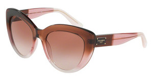Dolce & Gabbana DG4287 306013 BROWN GRADIENTBORDEAUX GRAD/PINK/POWDER