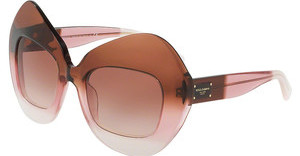 Dolce & Gabbana DG4290 306013 BROWN GRADIENTBORDEAUX GRAD/PINK/POWDER