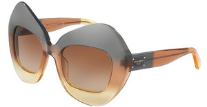 Dolce & Gabbana DG4290 307413 BROWN GRADIENTGRAD BROWN/CARAMEL/YELLOW