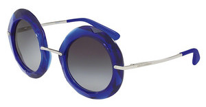 Dolce & Gabbana DG6105 300919 GREY GRADIENTTRANSPARENTE BLUE