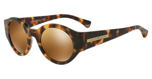 Emporio Armani EA4044 54326H BROWN MIRROR GOLDHAVANA BROWN